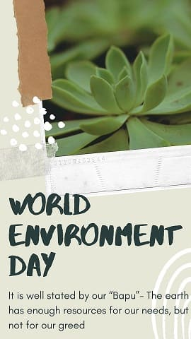A step towards Mother Earth: World Environment Day